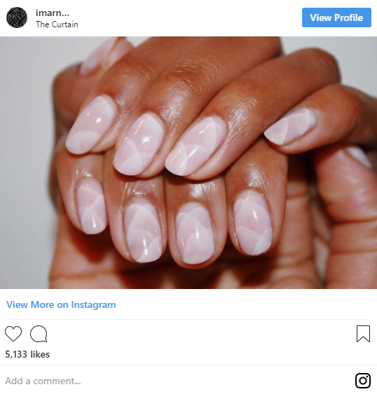 Tendințe în manichiură - modele de cuarț pe unghie